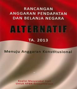 Rancangan RAPBN Alternatif 2013