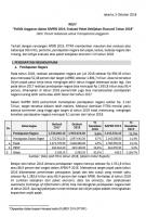 Politik Anggaran dalam RAPBN 2019, Evaluasi Paket Bebijakan Ekonomi Tahun 2018